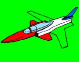 Disegno Jet  pitturato su nick