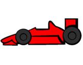 Disegno Formula 1 pitturato su emy