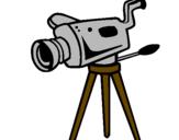 Disegno Cinecamera pitturato su Giulia