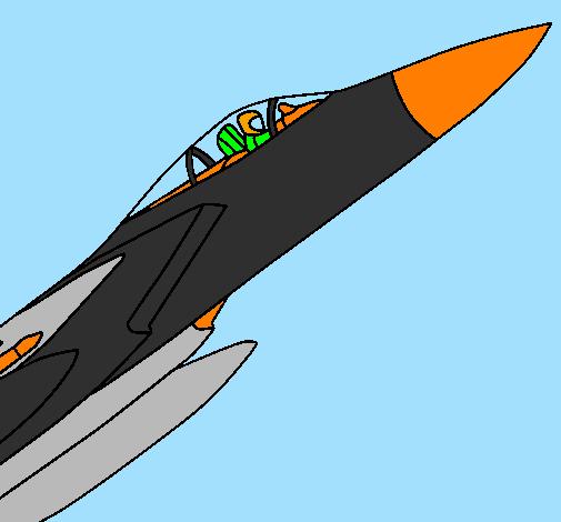 Aereo Da Caccia Giapponese : Disegno aereo da caccia colorato utente non registrato