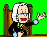 Disegno Giudice pitturato su Sofia03rom.