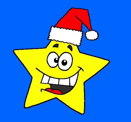 disegno stella di natale colorato da utente non registrato il 07 ... - Disegno Stella Colorate