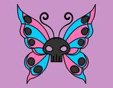 Disegno Emo Farfalla pitturato su anastasiaa