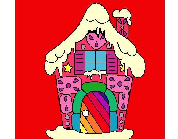 Disegno casa colorata colorato da giulia il 13 di febbraio for Casa disegno