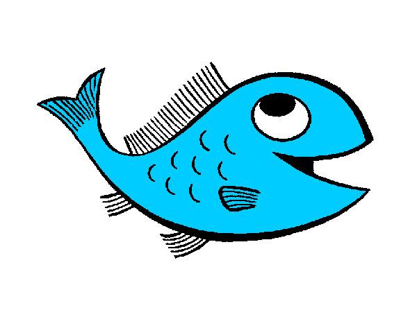 Disegno Pesce Colorato Da Marty Il 14 Di Febbraio Del 2012