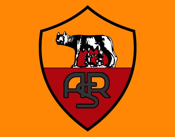 disegno stemma del as roma colorato da sophydamy il 05 di
