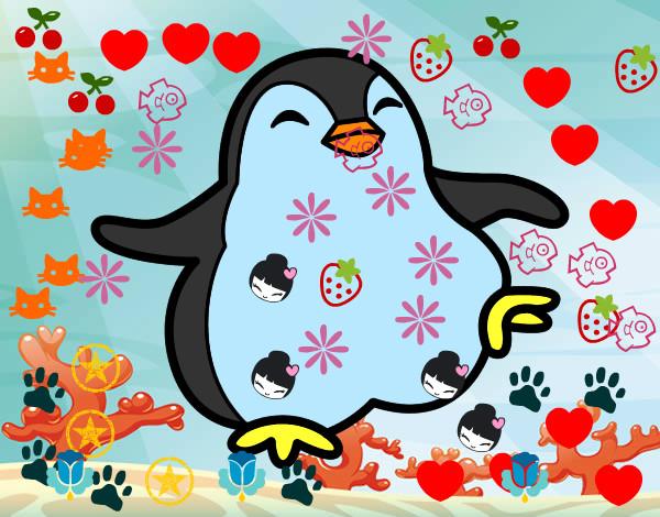 Disegno pinguino simpa colorato da chicco16 il 17 di for Disegno pinguino colorato