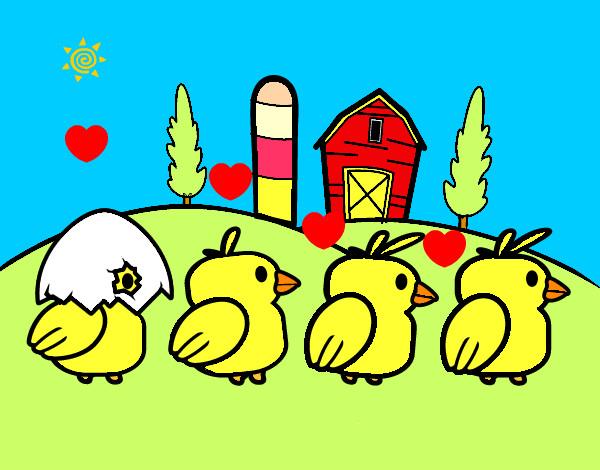 Disegno bianca colorato da bianca il 18 di marzo del 2012 for Piani di fattoria bianca