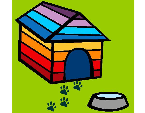 Disegno casa di cane colorato da enya931 il 13 di maggio for Casa progetta il trotto del cane