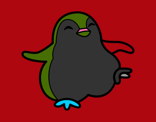 Disegno pinguino ballerino colorato da pipuz il 07 di for Disegno pinguino colorato