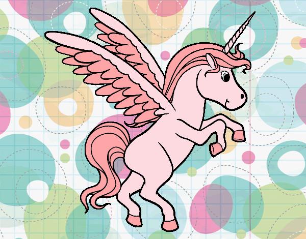 Disegno Unicorno Colorato Da Adriechia Il 20 Di Maggio Del 2012