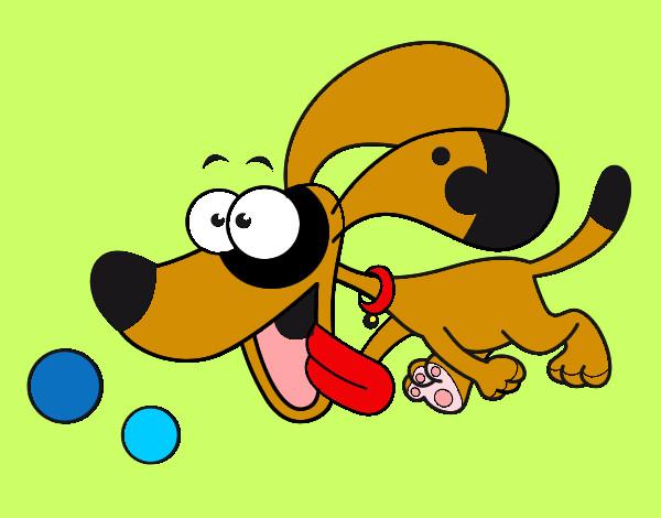 Disegno Cane Colorato Da Holly Il 23 Di Giugno Del 2012