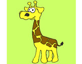 Disegno Giraffa  3 pitturato su AliceRossi