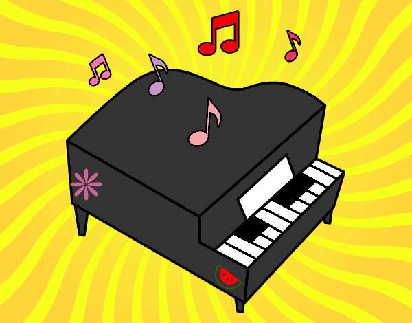 disegno piano colorato da marysnow il 16 di luglio del 2012