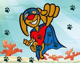 Disegno Super-cane pitturato su marysnow
