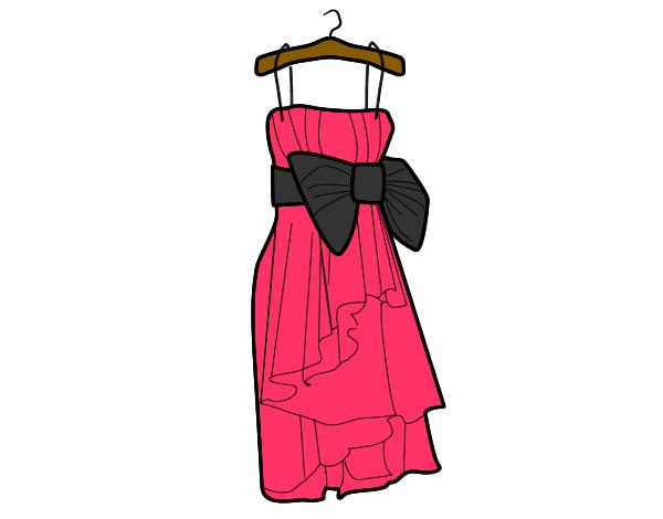 Preferenza Disegno vestito cerimonia colorato da Carmy il 24 di Luglio del 2012 BL49