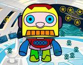 Disegno Robot galattico pitturato su alberto982