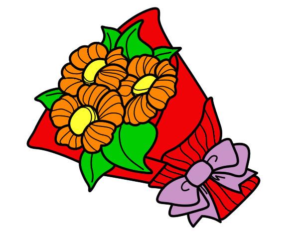 Mazzo Di Fiori Da Colorare: Disegno Margherite Colorato Da Martina_93 Il 16 Di Agosto