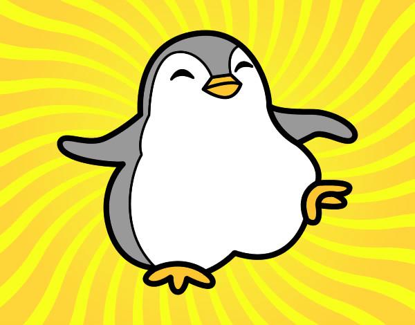 Disegno pinguino ballerino colorato da rossanina il 23 for Disegno pinguino colorato