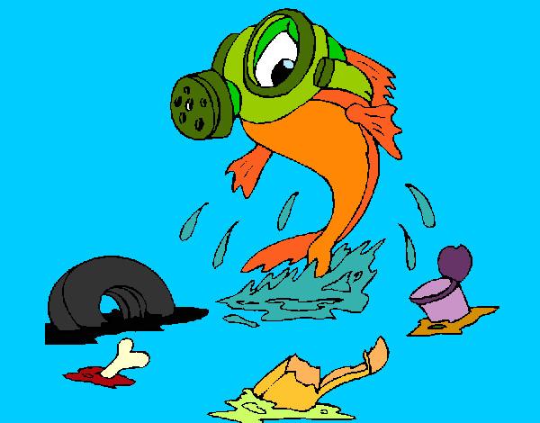 Disegno Inquinamento Marino Colorato Da Bianca03 Il 29 Di Agosto Del