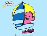 Disegno BellaBoo pitturato su ketty10