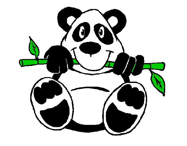 Disegno Orso E Panda Bambini Colorato Da Vegekuo Il 03 Di Settembre