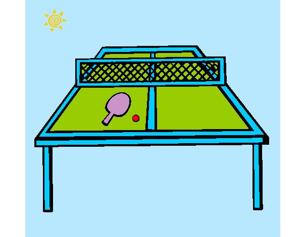 Disegno tavolo da ping pong colorato da ketty10 il 03 di settembre del 2012 - Tavolo da ping pong decathlon prezzi ...