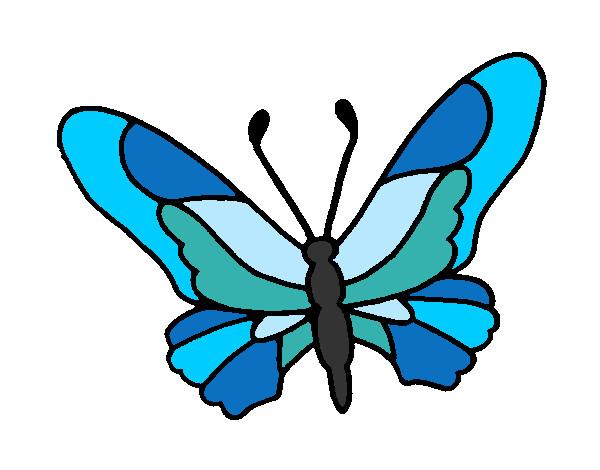 Disegno Farfalla Colorato Da Princess Il 11 Di Settembre Del 2012