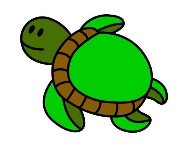 Disegno Tartaruga Nuoto Colorato Da Saramenny Il 22 Di Settembre Del