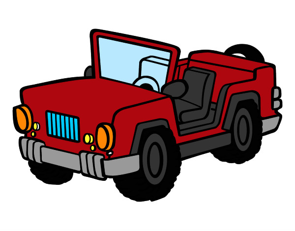 Disegno jeep colorato da flaviomax il 27 di settembre del 2012 for Jeep da colorare