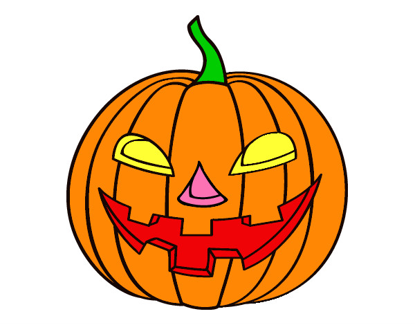 Disegno bianca5 colorato da bianca5 il 02 di novembre del 2012 for Disegni di zucche