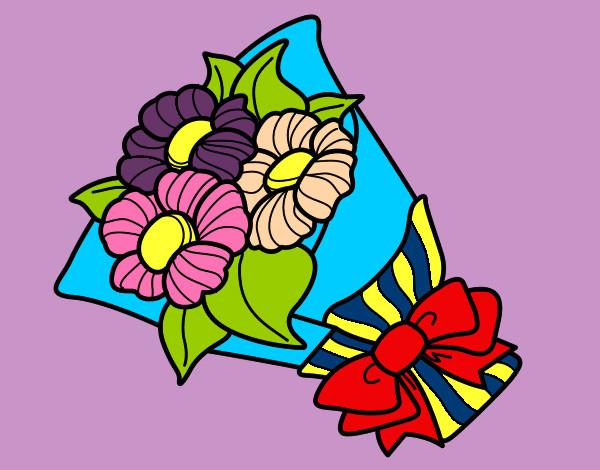 Disegno mazzo di fiori colorato da gaya il 21 di novembre for Disegni del mazzo del cortile