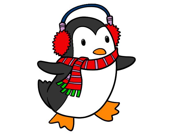Disegno pinguino colorato da paradisa il 08 di dicembre for Disegno pinguino colorato