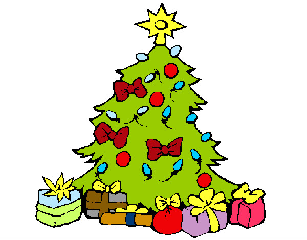 Disegno suuuuuper alber colorato da rami il 17 di dicembre - Colori per natale ...