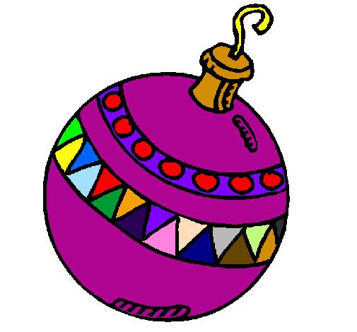 Disegno palline di natale colorato da utente non for Palline di natale da colorare