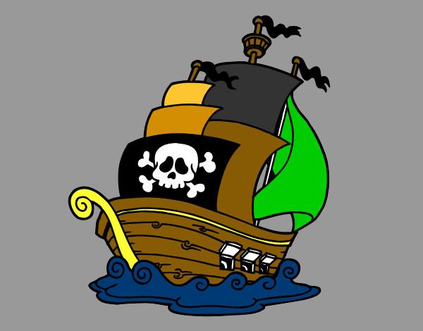 Disegno Nave Dei Pirati Colorato Da Filippo31 Il 05 Di Gennaio Del 2013