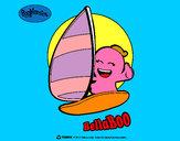 Disegno BellaBoo pitturato su TheBest522