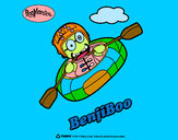 Disegno BenjiBoo pitturato su TheBest522
