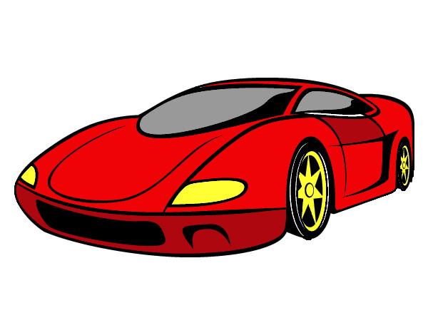 Disegno hahh colorato da nourddinne il 21 di gennaio del 2013 for Disegni da colorare macchine cars