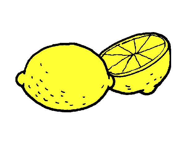 Limoni Disegno: Disegno Limone Colorato Da Danygabri Il 30 Di Maggio Del 2013
