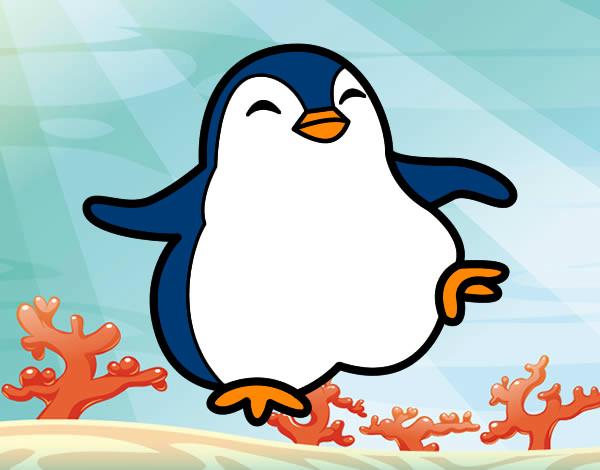 Disegni di pinguini da colorare for Pinguino da colorare