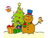 Disegno Natale II pitturato su kkpier1