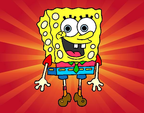 Disegno spongebob allegro colorato da kkpier1 il 29 di for Disegni spongebob