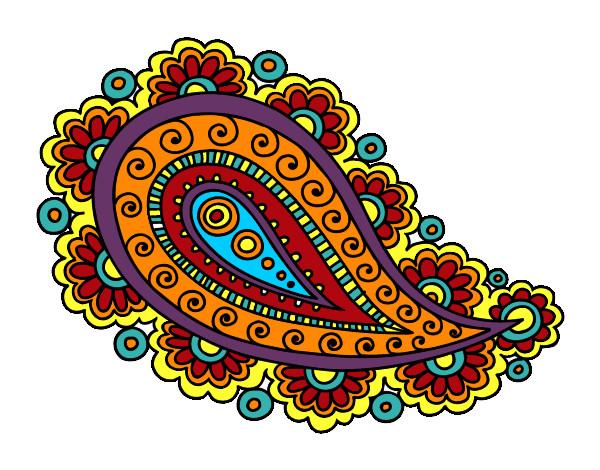 Disegno Mandala Lacrima Colorato Da Valentina7 Il 20 Di