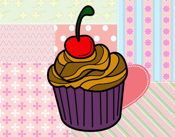 Disegno cioccolato al ciliegie colorato da cecilia il 28 for Disegni da colorare ciliegie