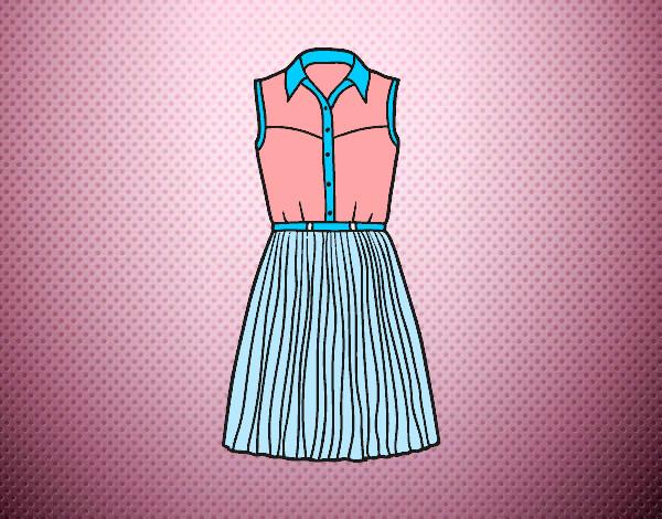305015d770af Populaire Disegno Vestito texano colorato da Carmy600 il 12 di Giugno del  2014 BK69