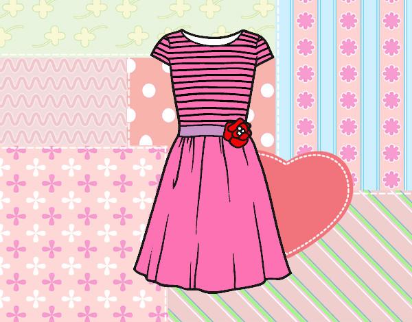 Amato Disegno Vestito casuale colorato da Alessia02 il 12 di Ottobre del  IH09