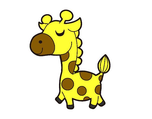 Disegno giraffa vanitosa colorato da gabriel17 il 15 di - Animali dei cartoni animati a colori ...