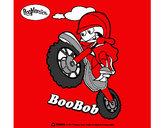 Disegno BooBob pitturato su Francesc09
