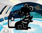 Disegno Segno del ratto pitturato su Francesc09
